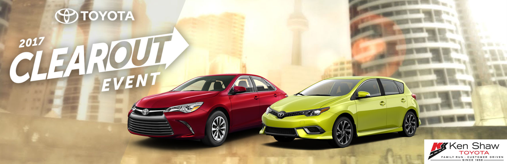 Toyota Canada Incentives in Toronto